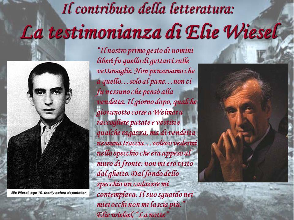 Il contributo della letteratura: La testimonianza di Elie Wiesel