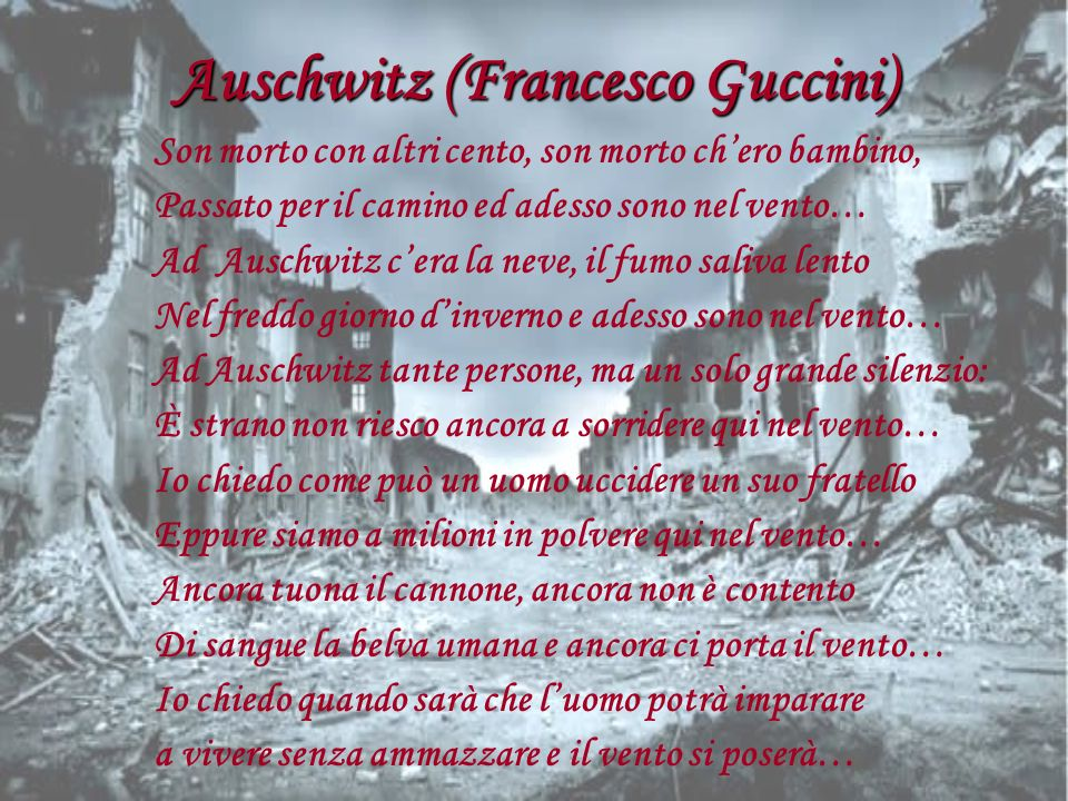 Auschwitz (Francesco Guccini)