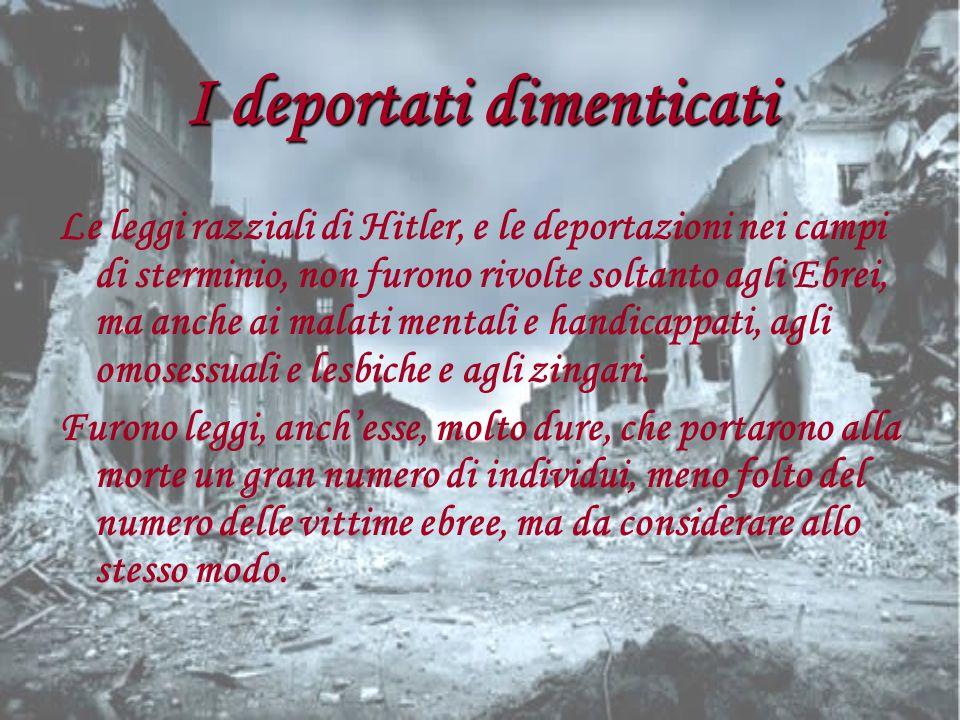 I deportati dimenticati