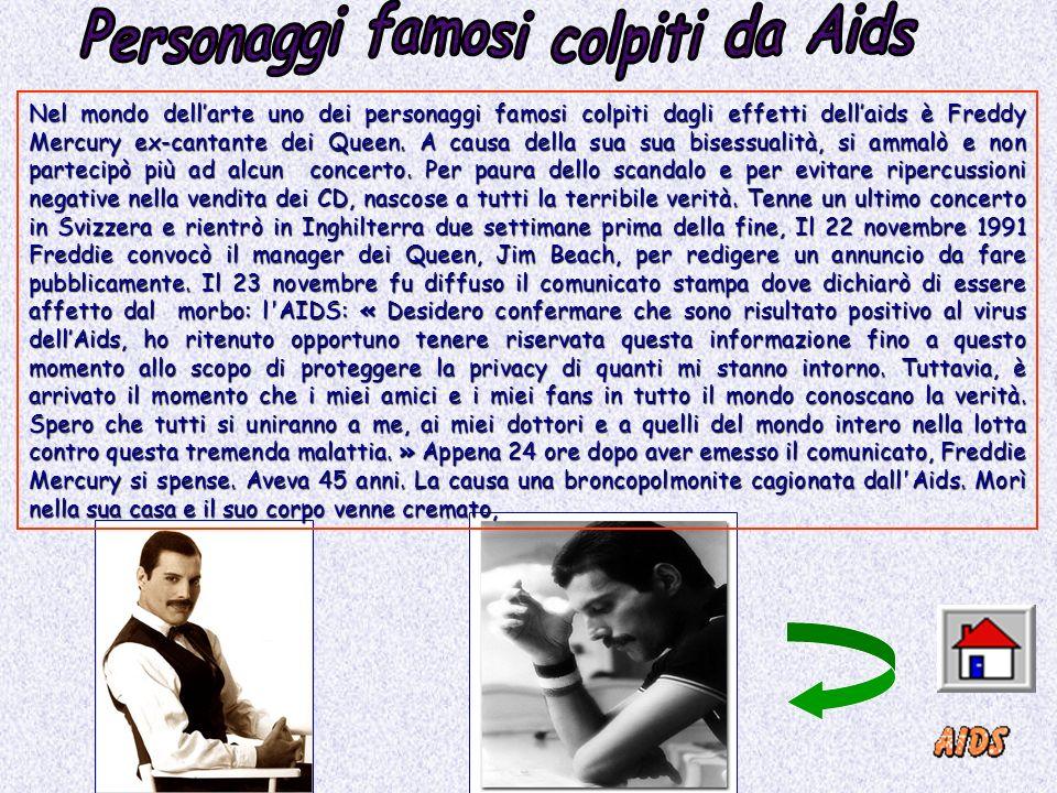 Personaggi famosi colpiti da Aids