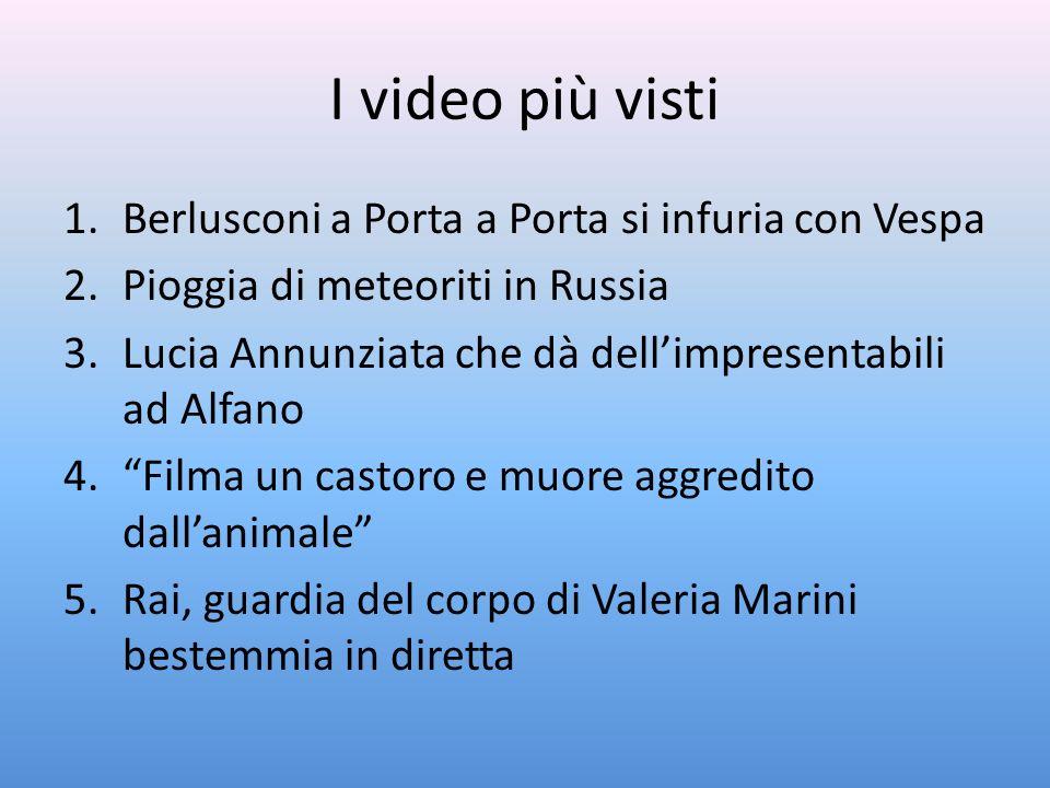 I video più visti Berlusconi a Porta a Porta si infuria con Vespa