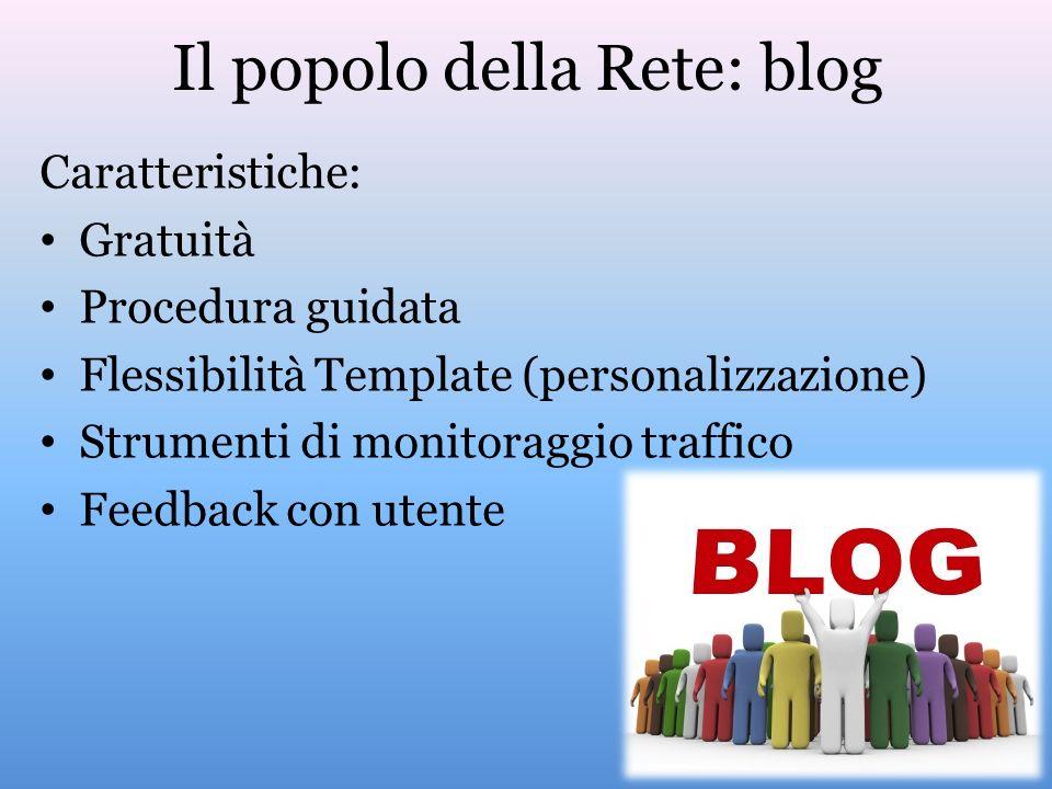 Il popolo della Rete: blog