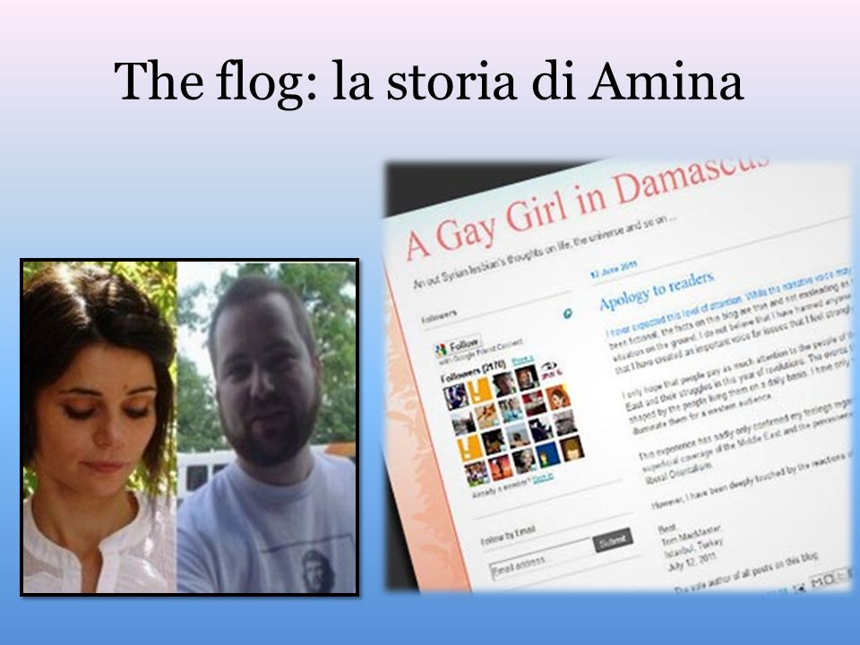 The flog: la storia di Amina