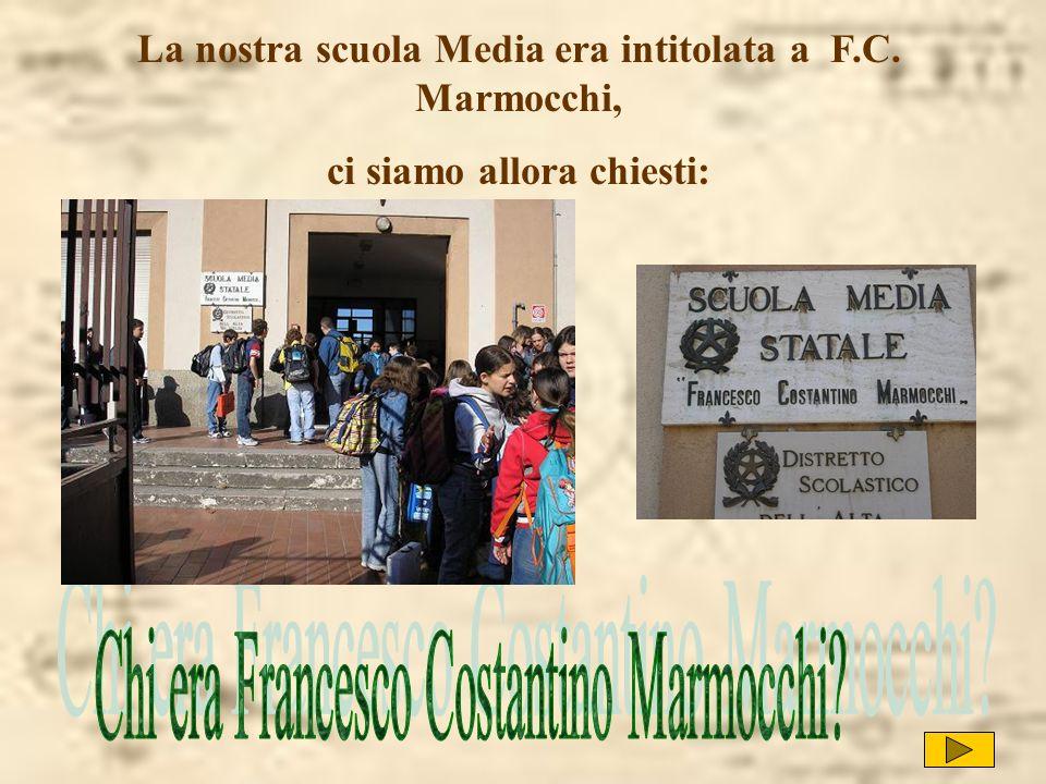 Chi era Francesco Costantino Marmocchi