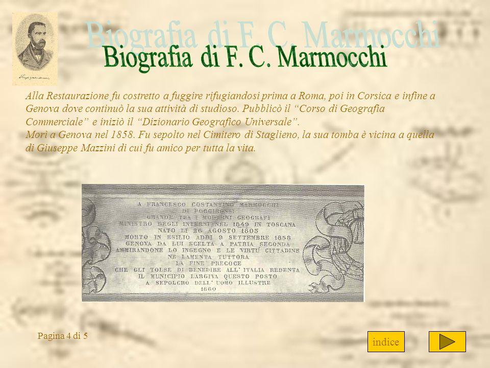 Biografia di F. C. Marmocchi