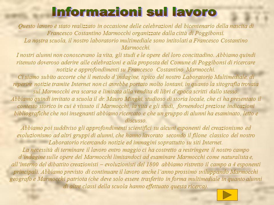 Informazioni sul lavoro
