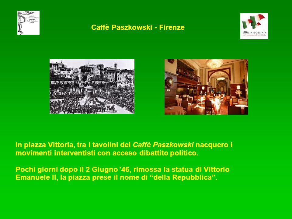 Caffè Paszkowski - Firenze
