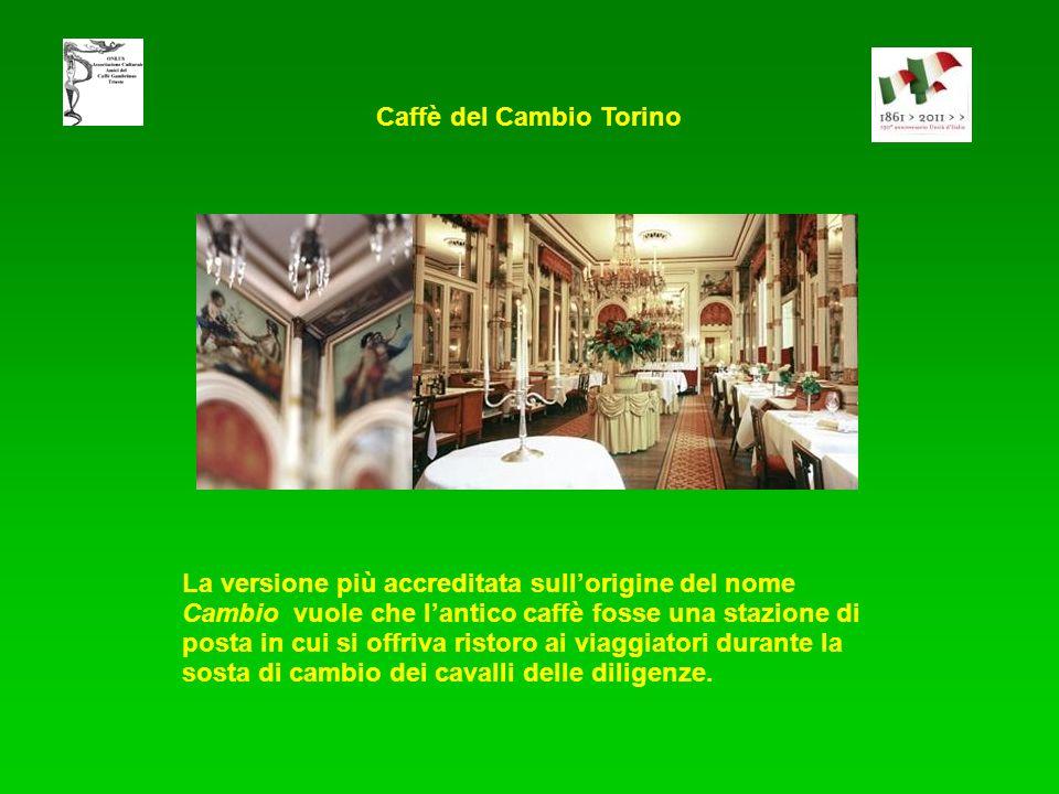 Caffè del Cambio Torino