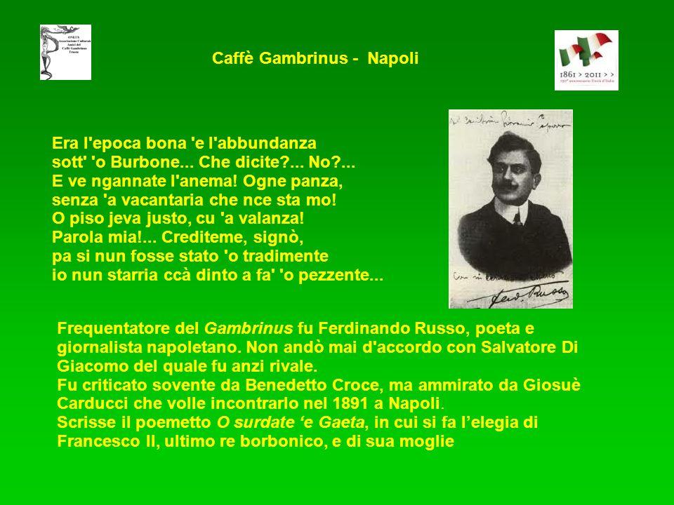 Caffè Gambrinus - Napoli