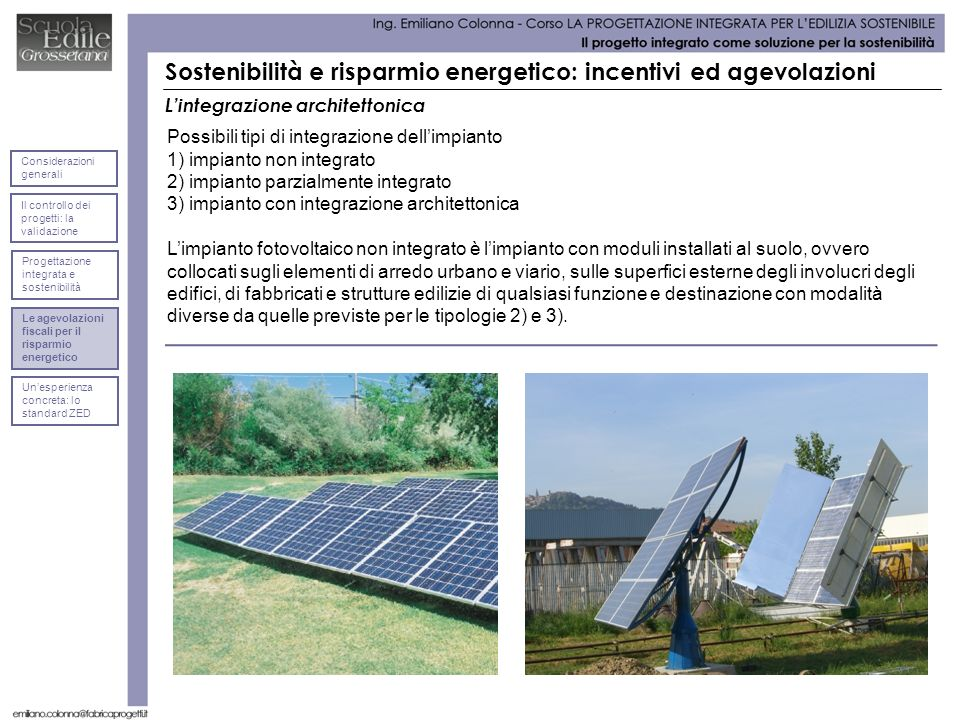 Sostenibilità e risparmio energetico: incentivi ed agevolazioni