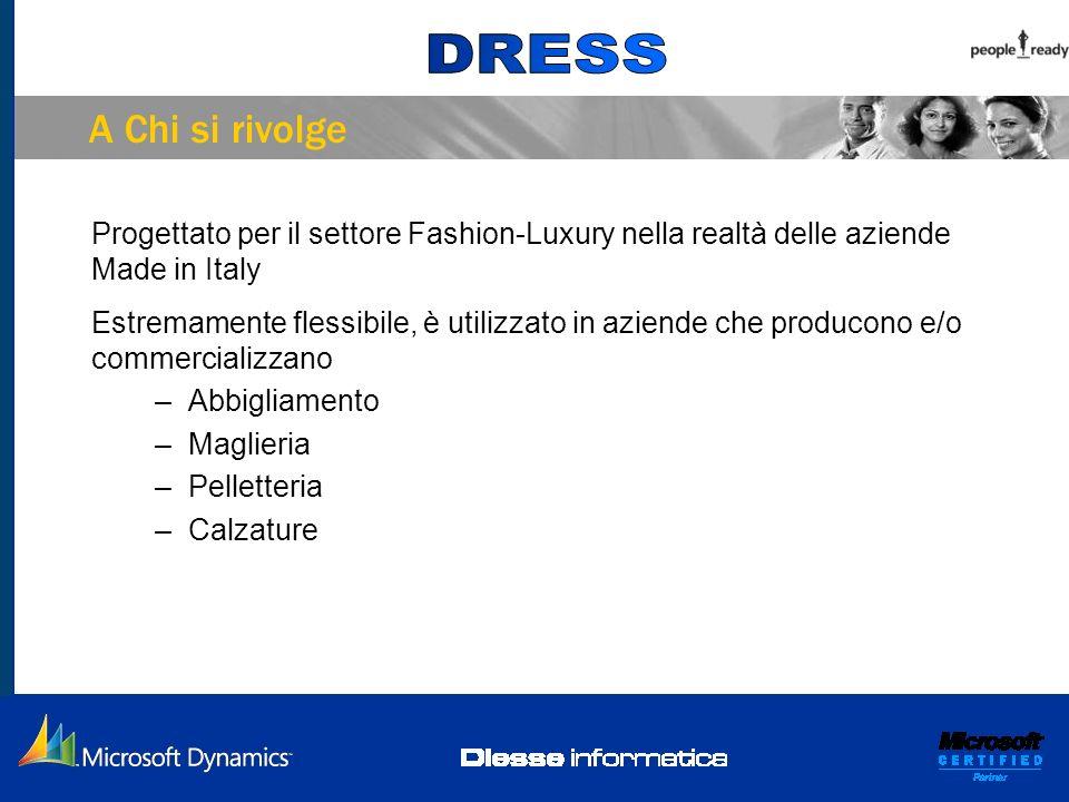 A Chi si rivolge Progettato per il settore Fashion-Luxury nella realtà delle aziende Made in Italy.