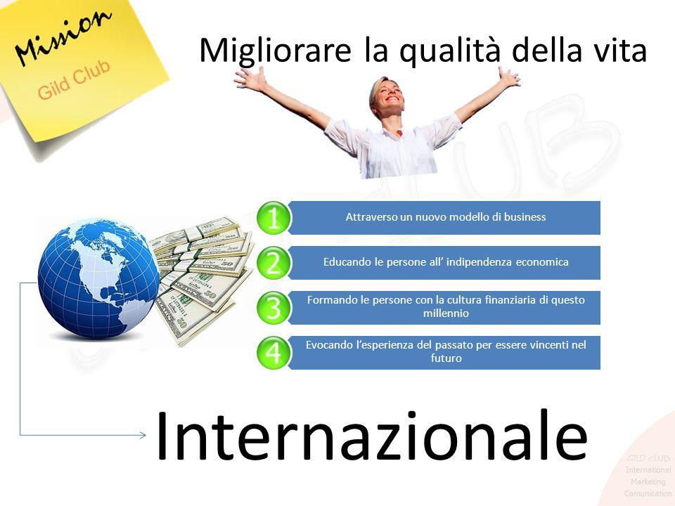 Internazionale Migliorare la qualità della vita Gild Club