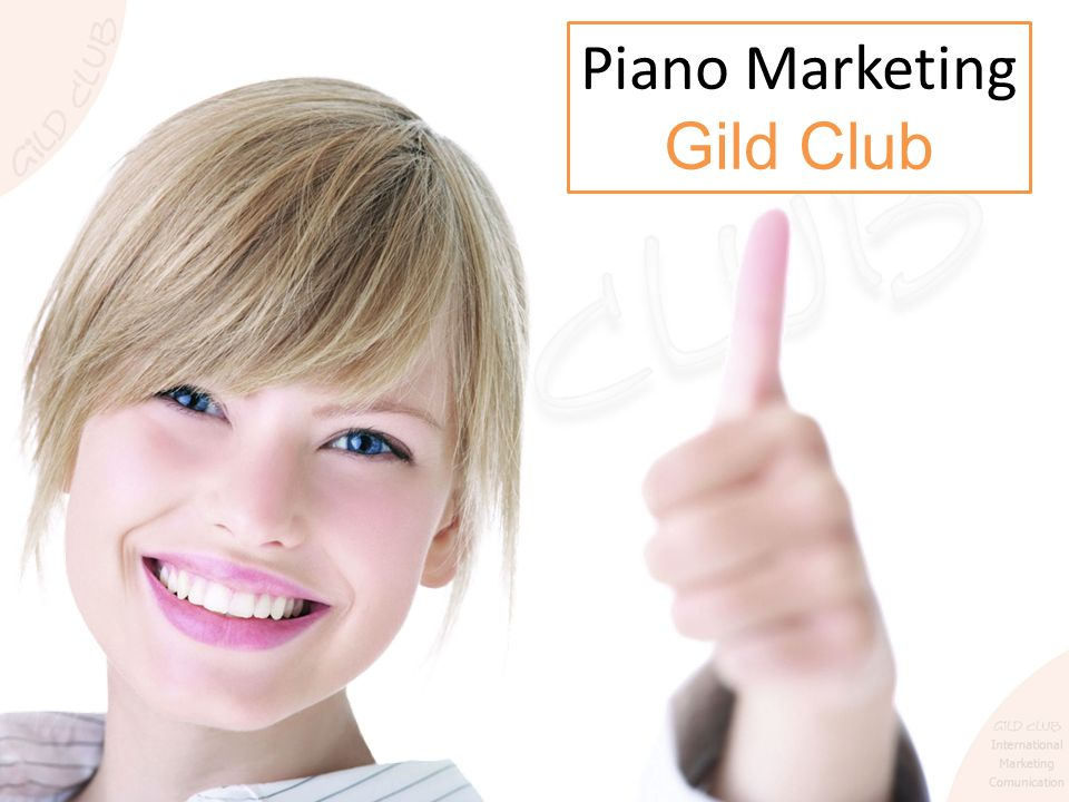 Piano Marketing Gild Club