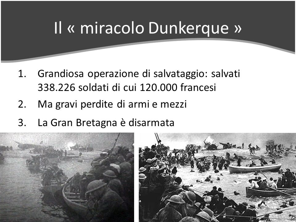 Il « miracolo Dunkerque »