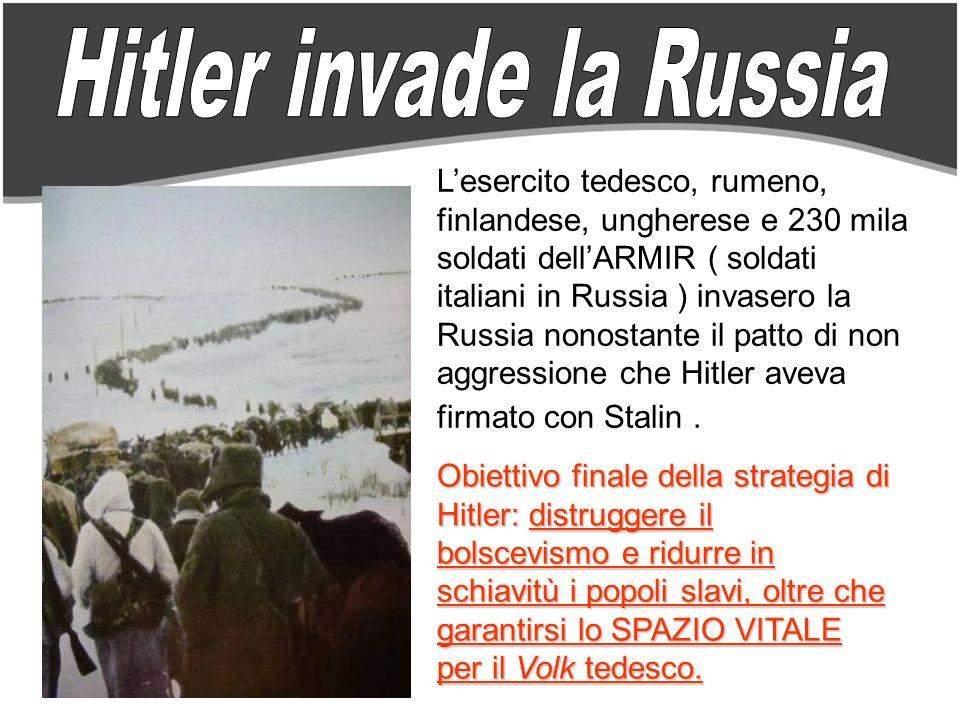 Hitler invade la Russia