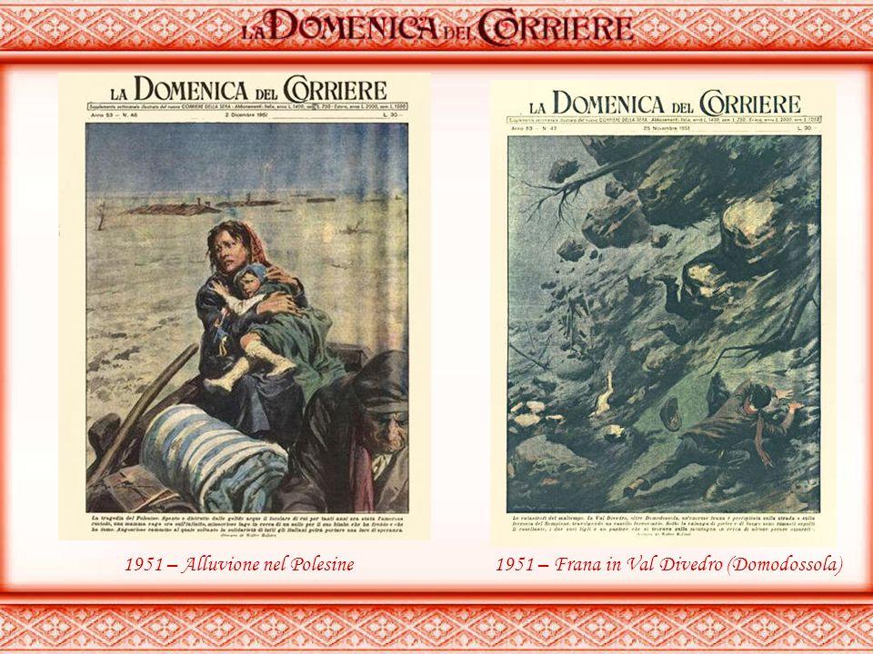 1951 – Alluvione nel Polesine