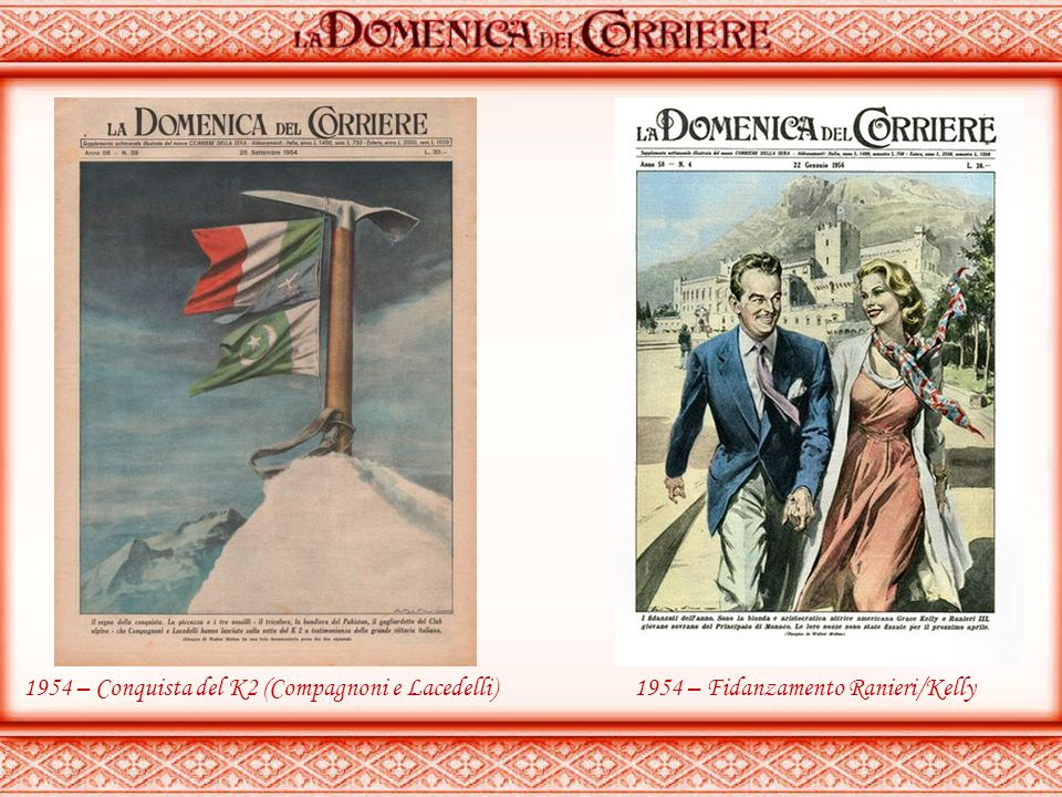 1954 – Conquista del K2 (Compagnoni e Lacedelli)
