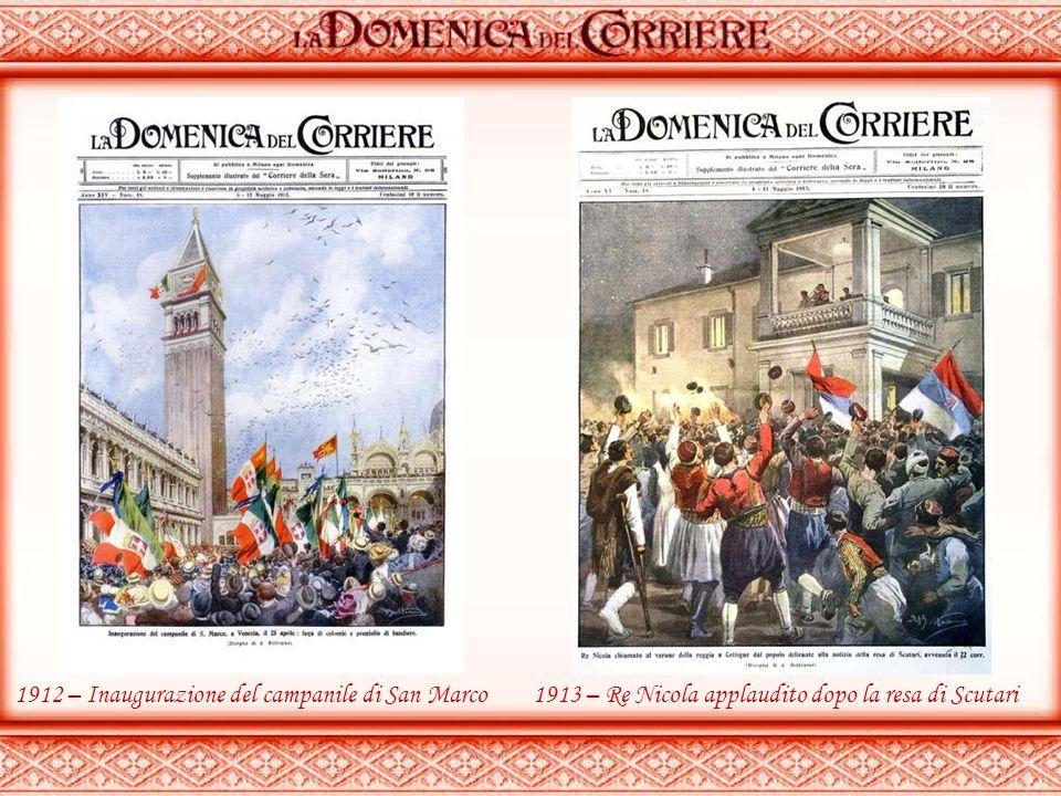 1912 – Inaugurazione del campanile di San Marco