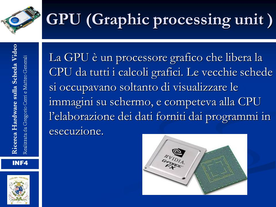 GPU (Graphic processing unit )