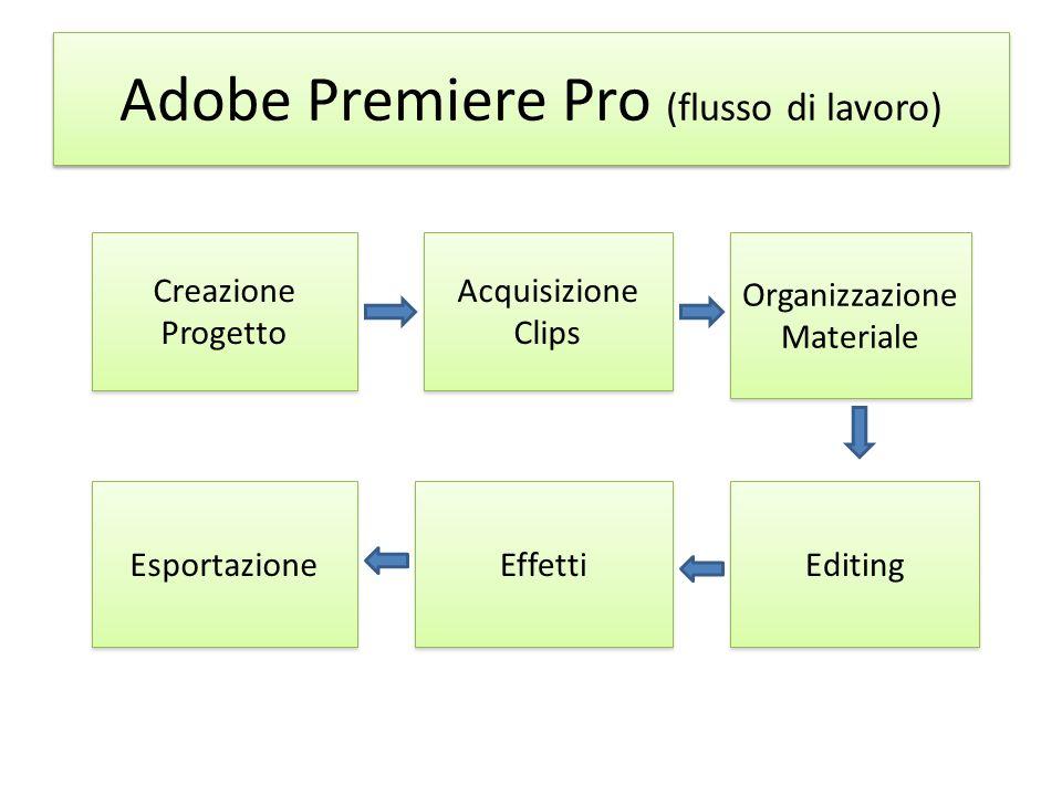 Adobe Premiere Pro (flusso di lavoro)