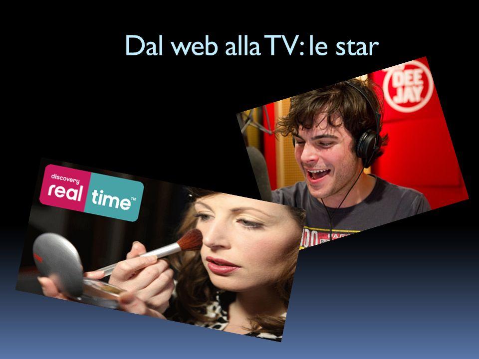 Dal web alla TV: le star