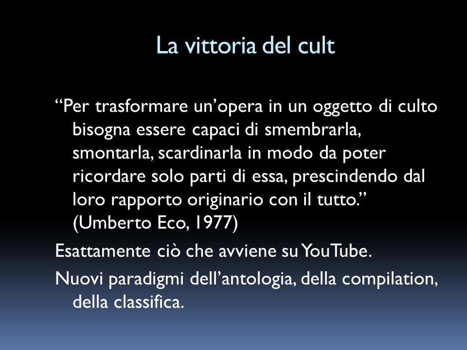 La vittoria del cult