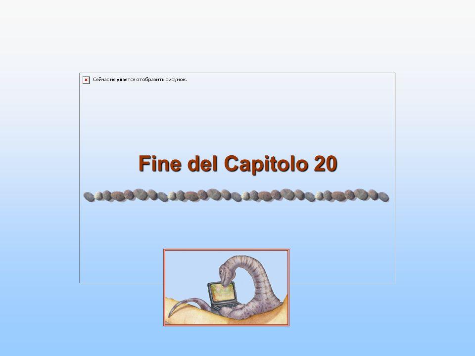 Fine del Capitolo 20