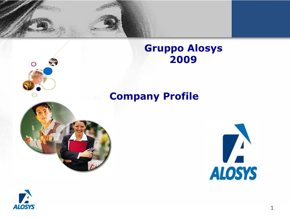 Gruppo Alosys 2009 Company Profile