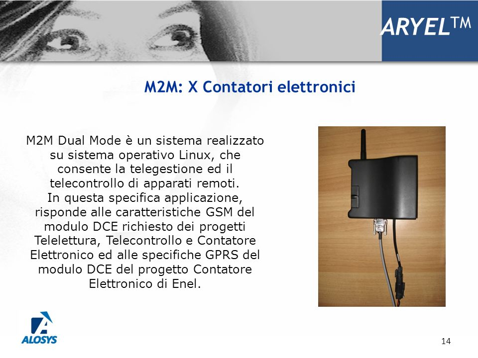 M2M: X Contatori elettronici