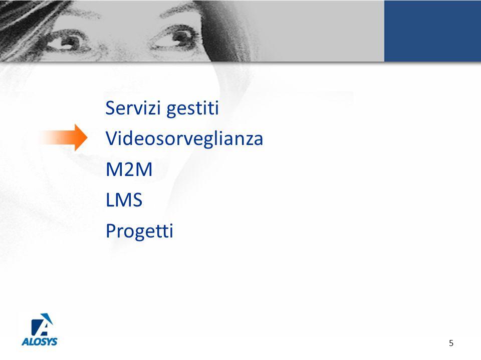 Servizi gestiti Videosorveglianza M2M LMS Progetti