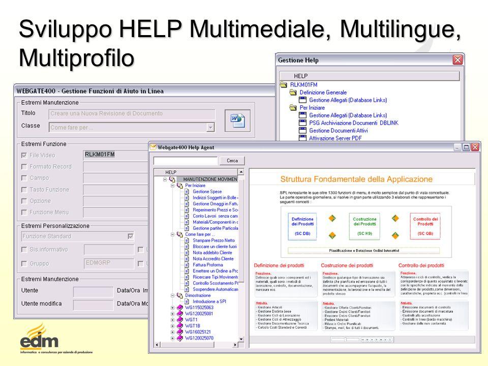 Sviluppo HELP Multimediale, Multilingue, Multiprofilo