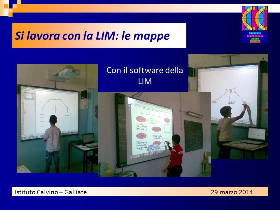 Con il software della LIM