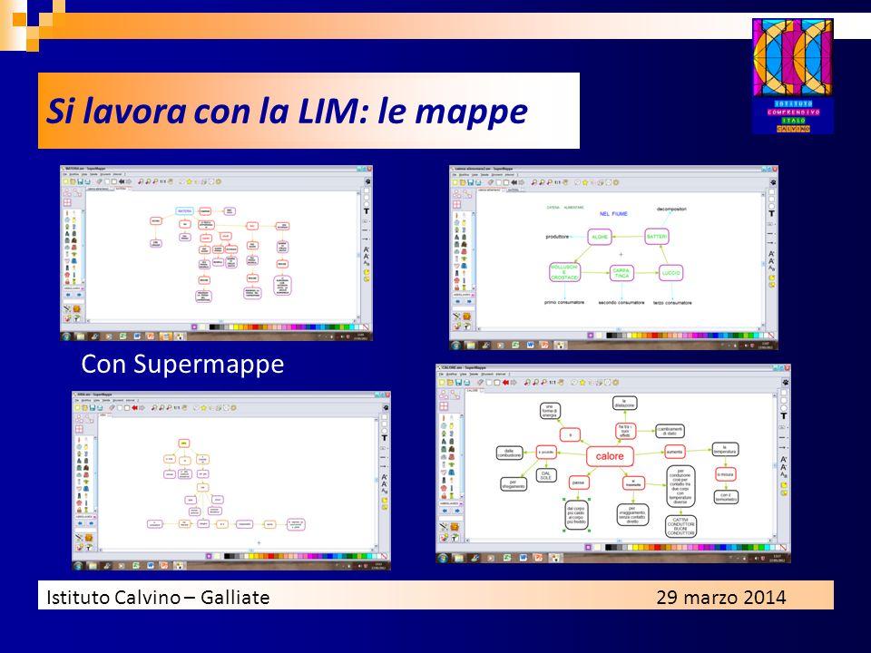 Si lavora con la LIM: le mappe
