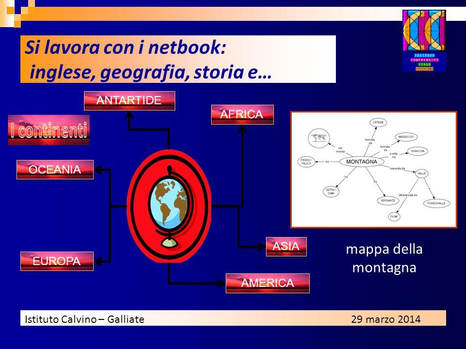 Si lavora con i netbook: inglese, geografia, storia e…