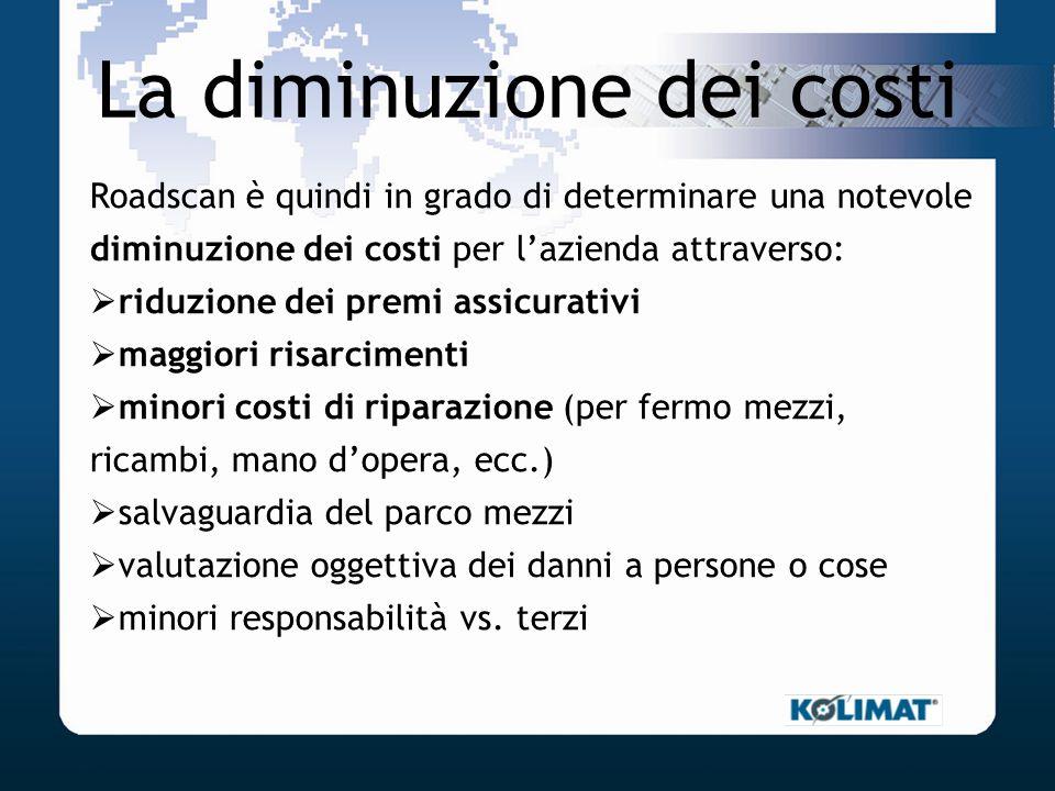 La diminuzione dei costi