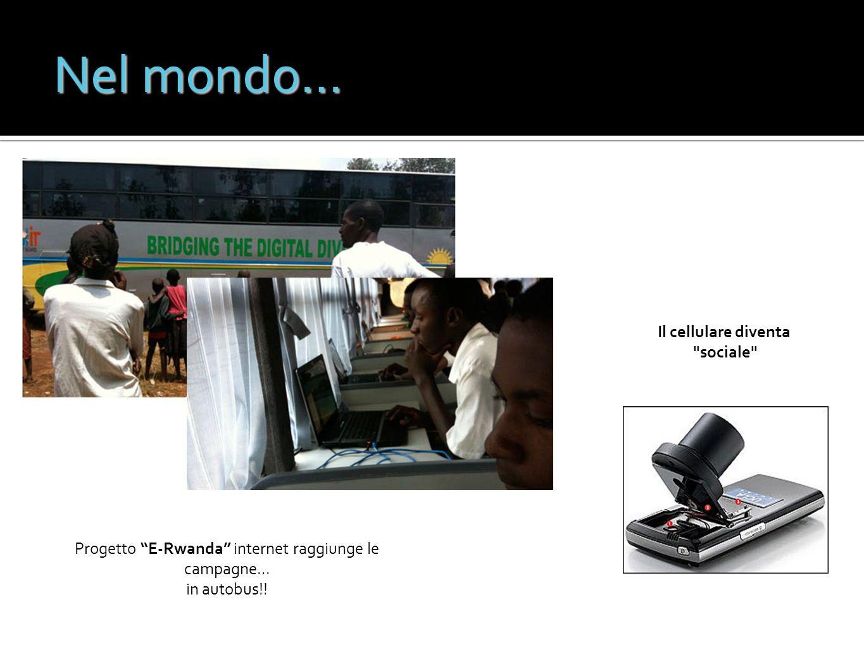 Progetto E-Rwanda internet raggiunge le campagne...