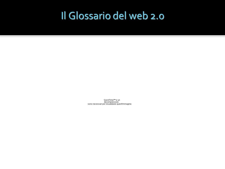 Il Glossario del web 2.0