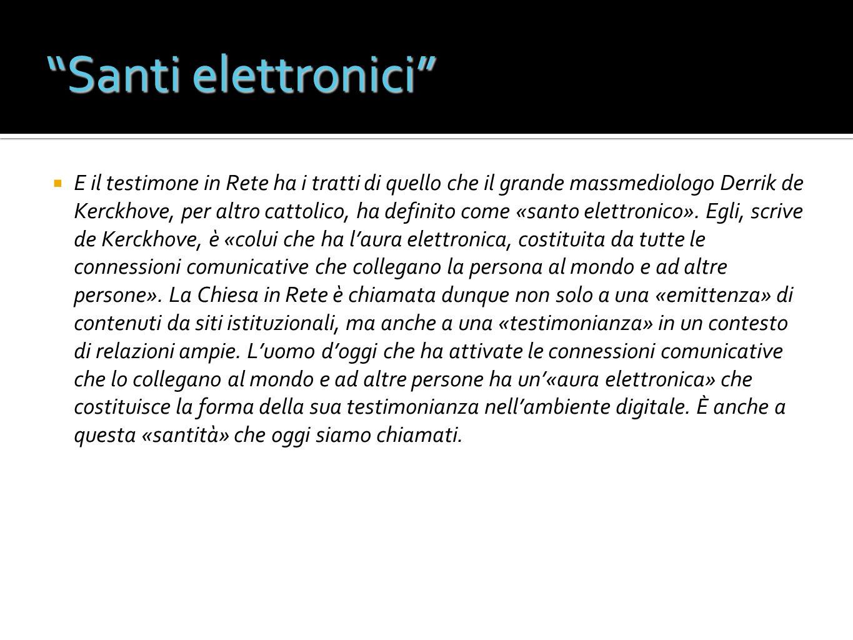 Santi elettronici