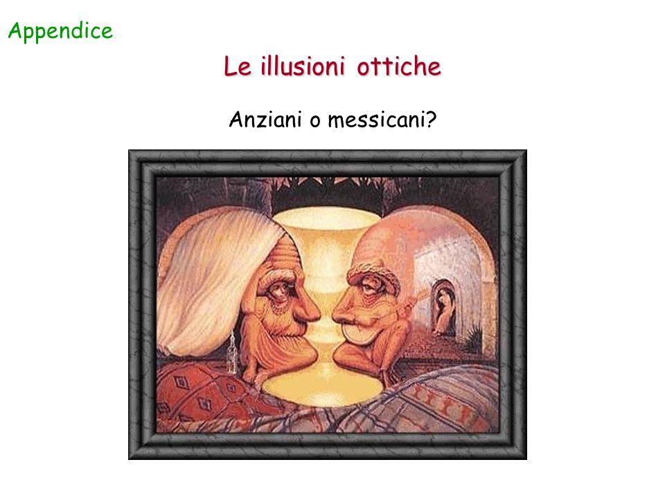 Appendice Le illusioni ottiche Anziani o messicani