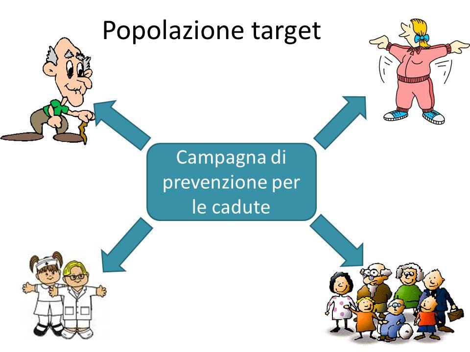 Campagna di prevenzione per le cadute
