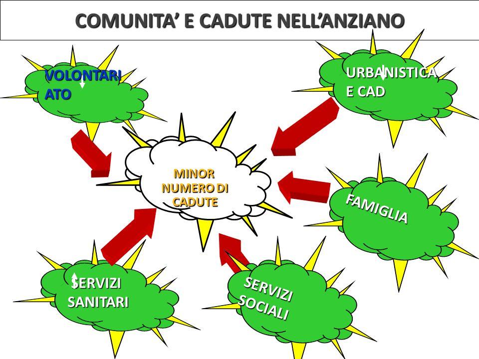 COMUNITA' E CADUTE NELL'ANZIANO