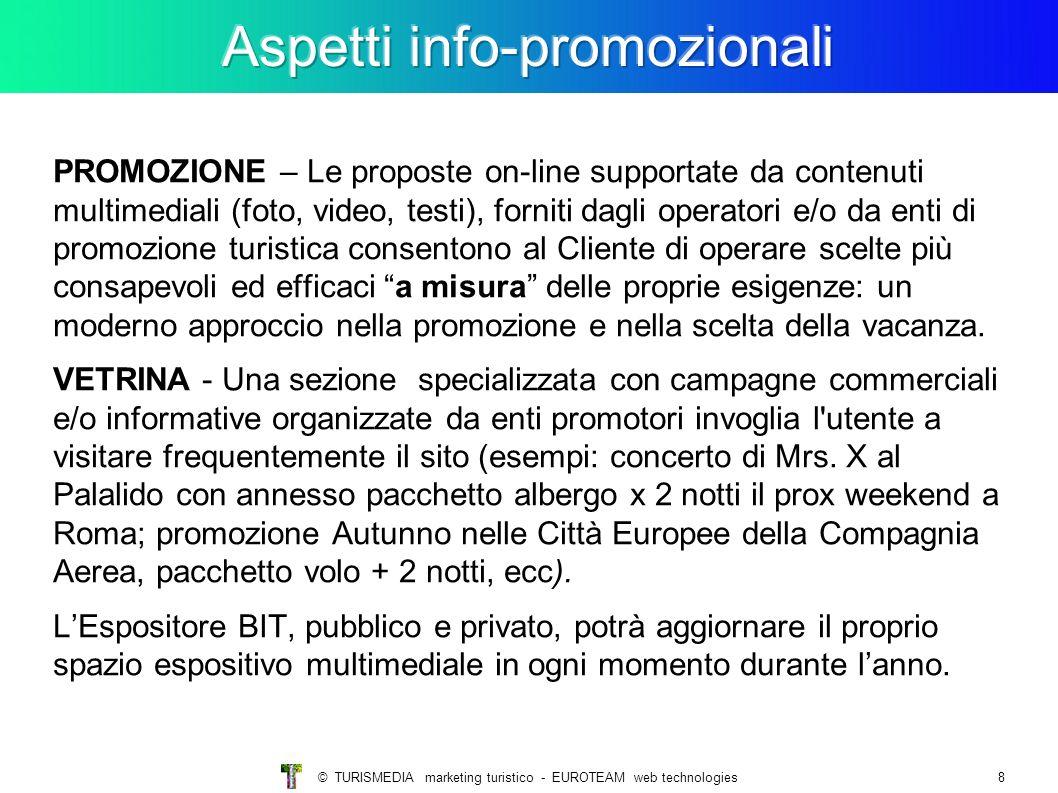 Aspetti info-promozionali