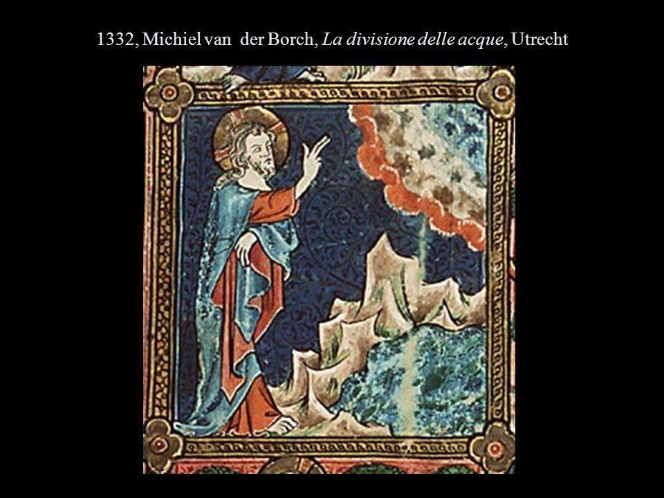 1332, Michiel van der Borch, La divisione delle acque, Utrecht