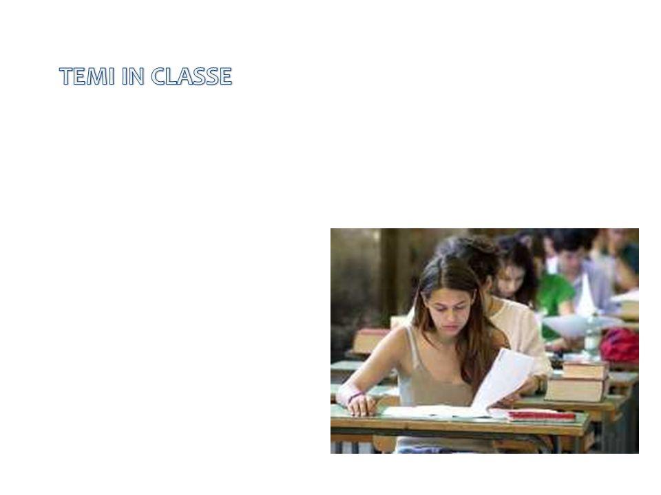 TEMI IN CLASSE