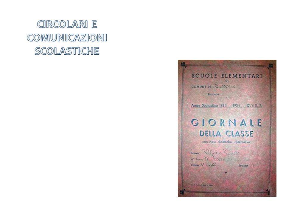 CIRCOLARI E COMUNICAZIONI SCOLASTICHE