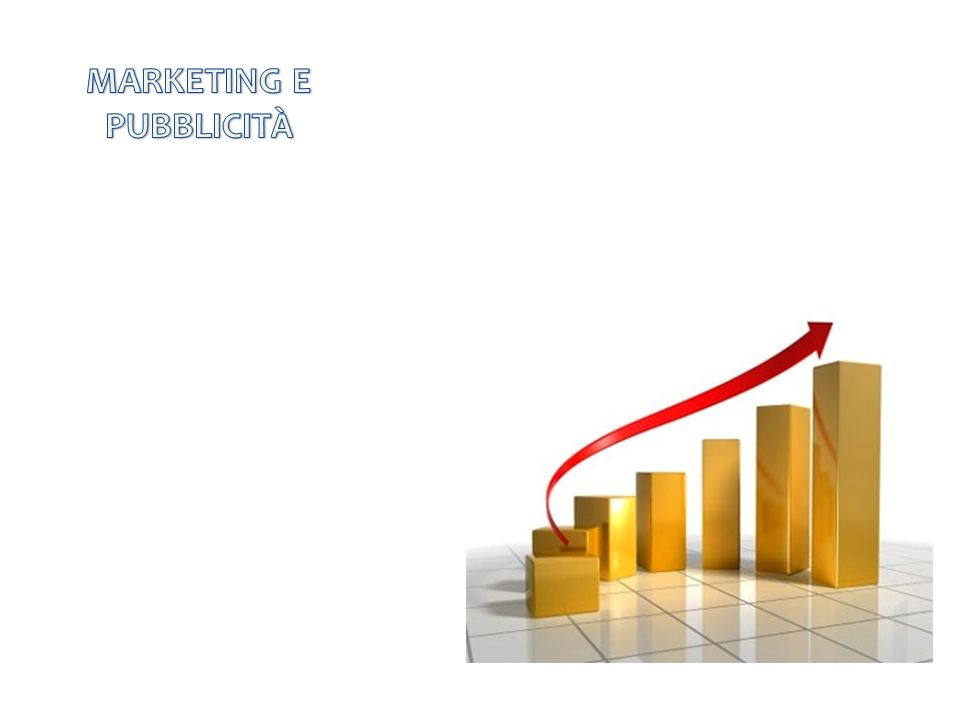 MARKETING E PUBBLICITÀ