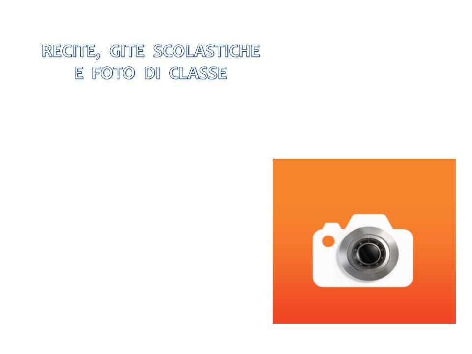 RECITE, GITE SCOLASTICHE E FOTO DI CLASSE