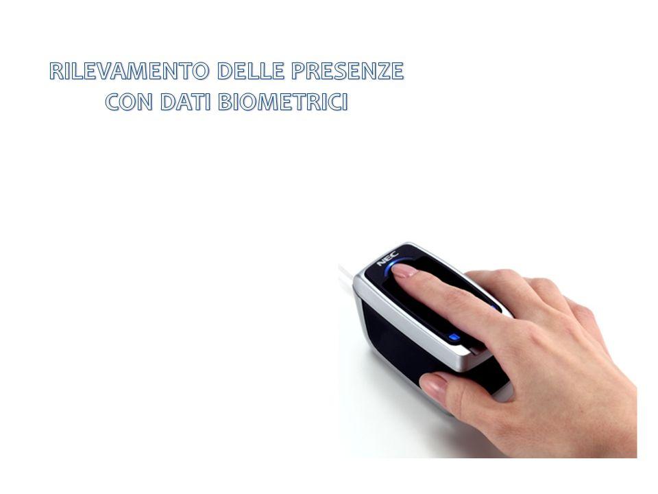 RILEVAMENTO DELLE PRESENZE CON DATI BIOMETRICI