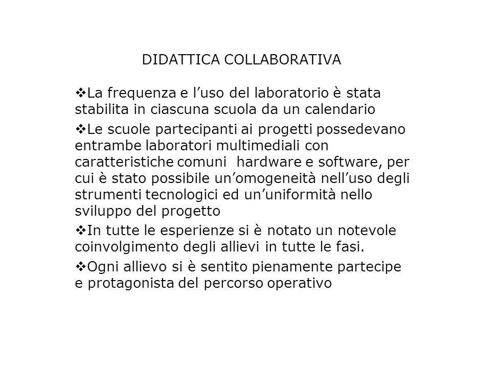 DIDATTICA COLLABORATIVA