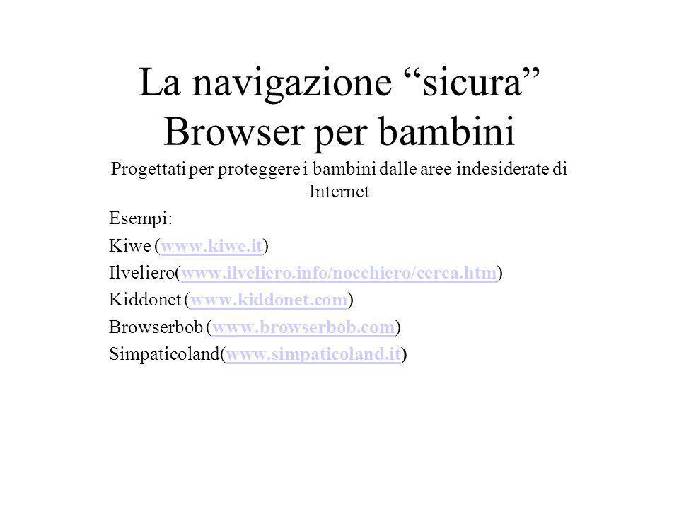 La navigazione sicura Browser per bambini
